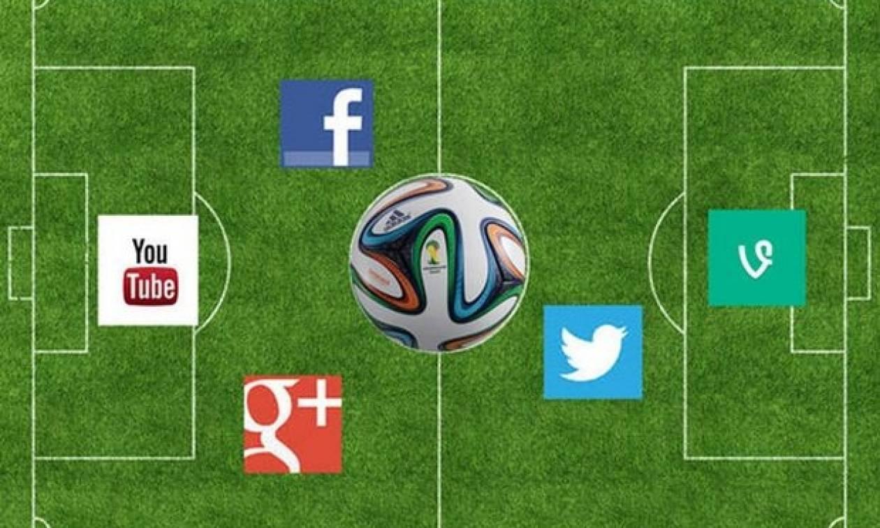Φανατικοί των social media οι Έλληνες φίλαθλοι