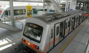 Εκτροχιάστηκαν βαγόνια του μετρό στο Αεροδρόμιο