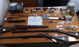 Μεσσηνία: Σύλληψη 56χρονου που ήταν έτοιμος για... «πόλεμο»…