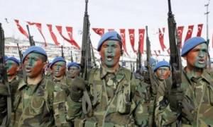 Τουρκική άσκηση αερομεταφερόμενης ταξιαρχίας