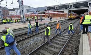 Βέλγιο: Παρέλυσε η Βαλονία από την απεργία των εργαζομένων στα τρένα