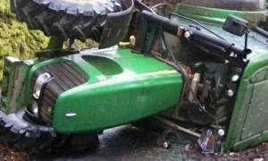 Νέα τραγωδία στην Κρήτη: Αγρότης καταπλακώθηκε από τρακτέρ