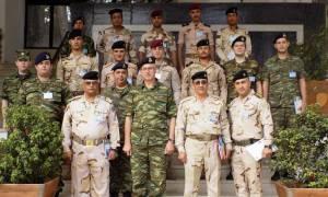Εκπαίδευση Ιρακινών αξιωματικών στην Σχολή Μηχανικού του στρατού (pics)