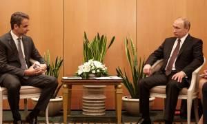Ο Πούτιν «χώρεσε» στο πρόγραμμά του και τον Μητσοτάκη