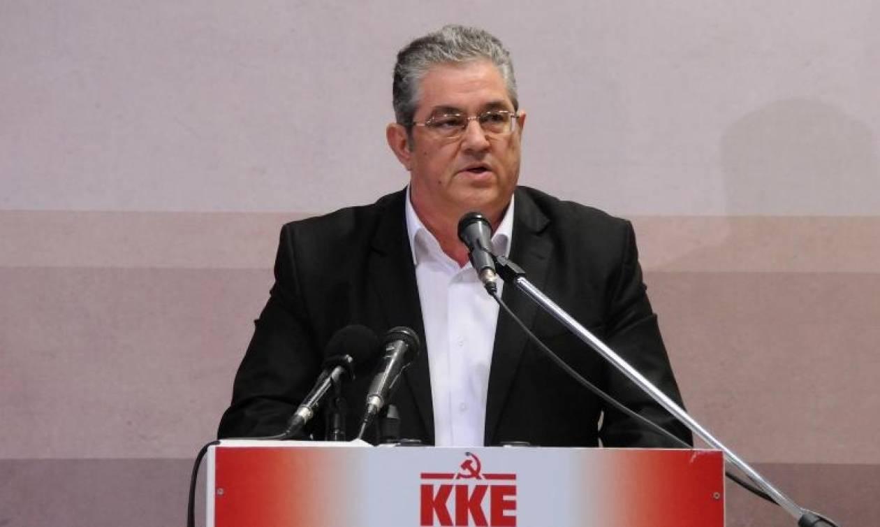 Κουτσούμπας: Η κυβέρνηση ΣΥΡΙΖΑ-ΑΝΕΛ κοροϊδεύει τον ελληνικό λαό