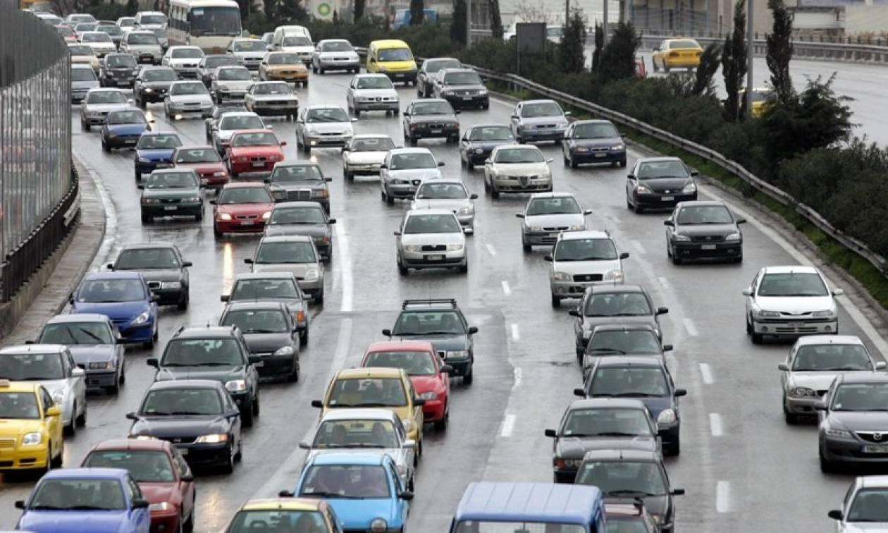 Προσοχή! Μεγάλο μποτιλιάρισμα στην Αθηνών - Λαμίας