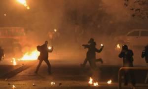Μολότοφ από αντιεξουσιαστές τα ξημερώματα στην Πατησίων