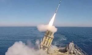 Ισραήλ: Δοκίμασε τη θαλάσσια έκδοση του Iron Dome (video)