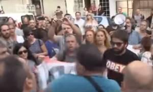 Οργή λαού εναντίον υπουργών και βουλευτών της κυβέρνησης ΣΥΡΙΖΑ - ΑΝΕΛ (vid)