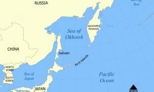 Σεισμός 5,5 Ρίχτερ στις Κουρίλες της Ρωσίας