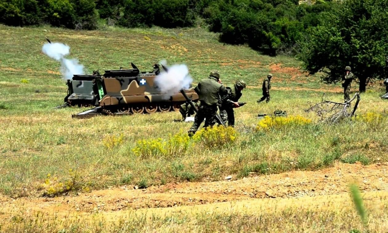 Εκπαίδευση Μηχανοκίνητης Μεραρχίας Πεζικού στον Έβρο (pics)