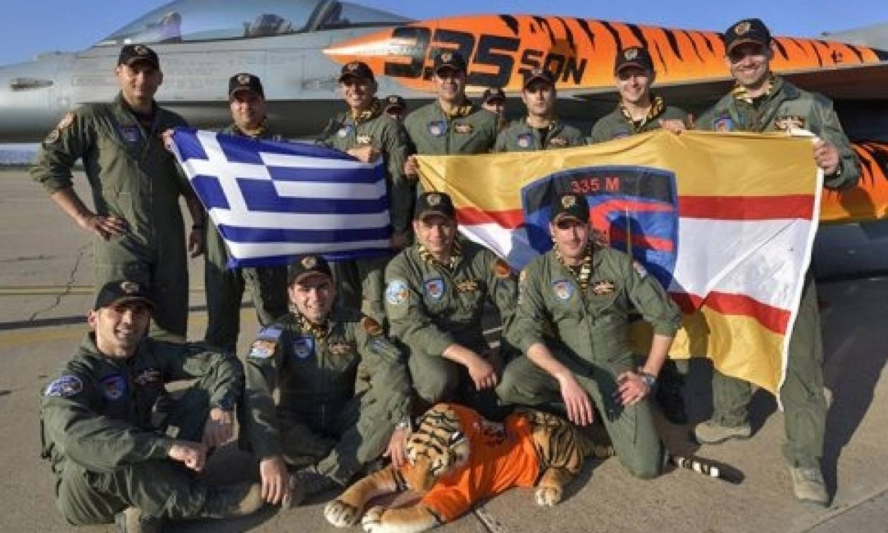Συμμετοχή της 335 Μοίρας στην Άσκηση «NATO Tiger Meet 2016» στην Ισπανία (pics)