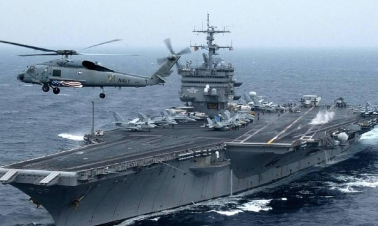Άσκηση του Πολεμικού Ναυτικού των ΗΠΑ σε Καλιφόρνια και Χαβάη