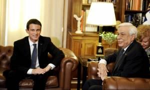 Προσφυγικό και τρομοκρατία στην ατζέντα της συνάντηση Παυλόπουλου - Βαλς