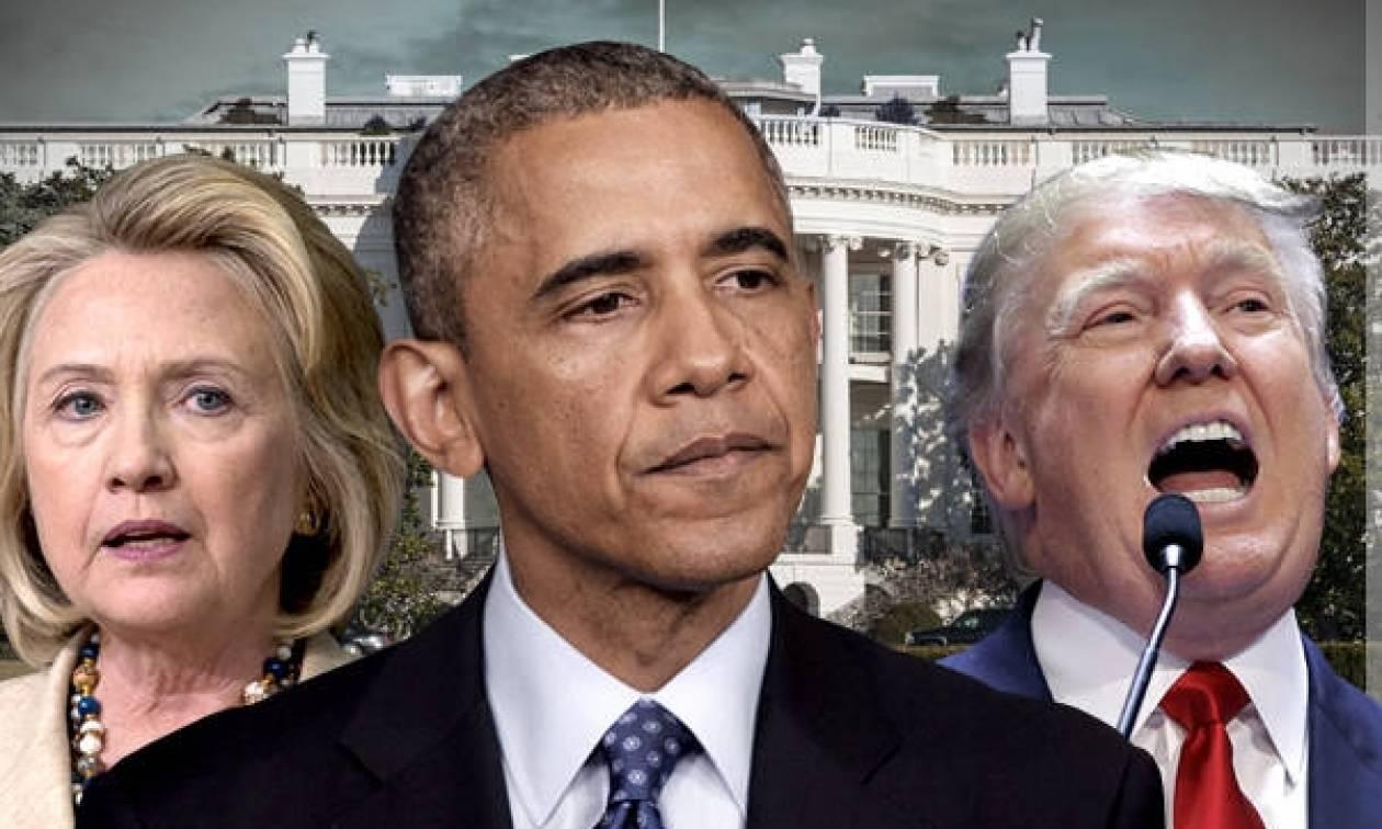 Ομπάμα και Χίλαρι κατά Τραμπ – Έχασε στο γκολφ από το… Μεξικό ο υποψήφιος των Ρεπουμπλικανών