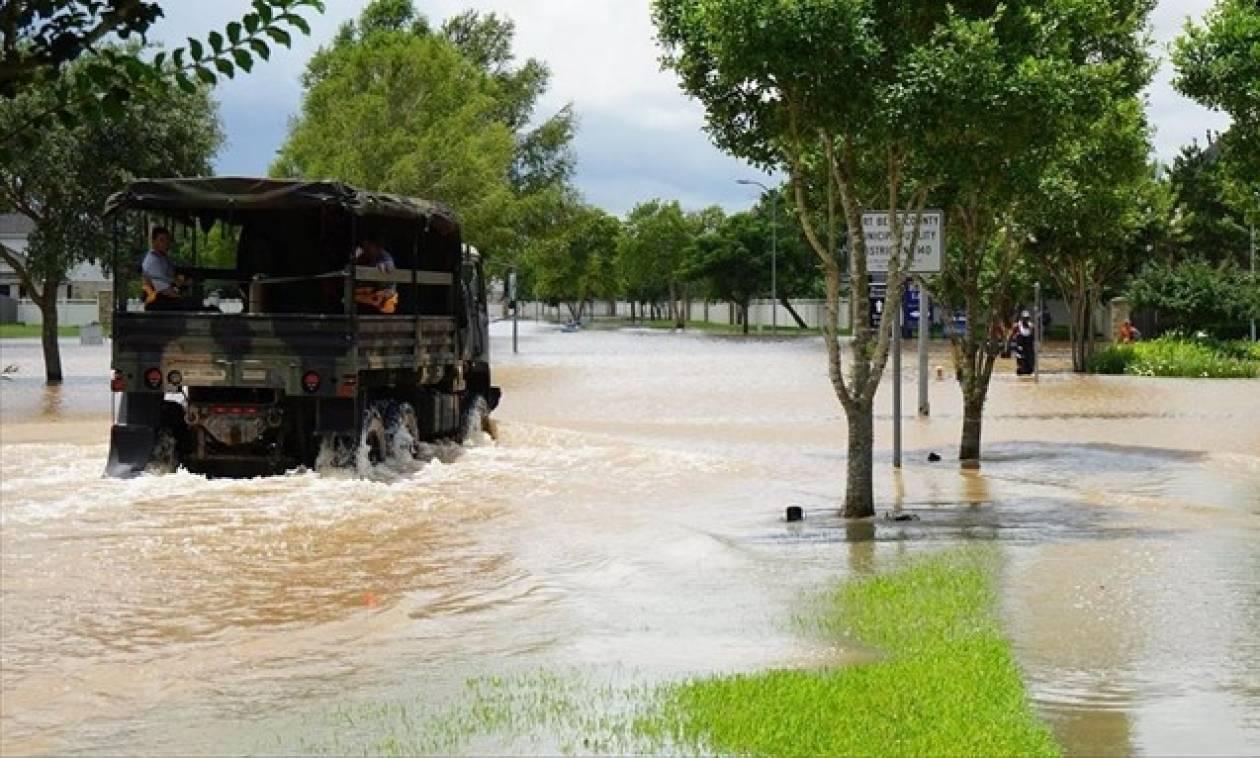 Τέξας: Πέντε νεκροί στρατιώτες από τις έντονες βροχοπτώσεις