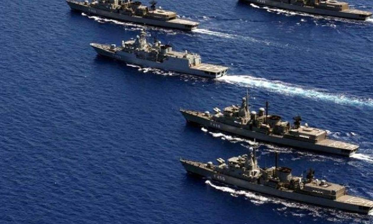 Πολεμικό Ναυτικό: Άσκηση ΚΑΤΑΙΓΙΣ 2016