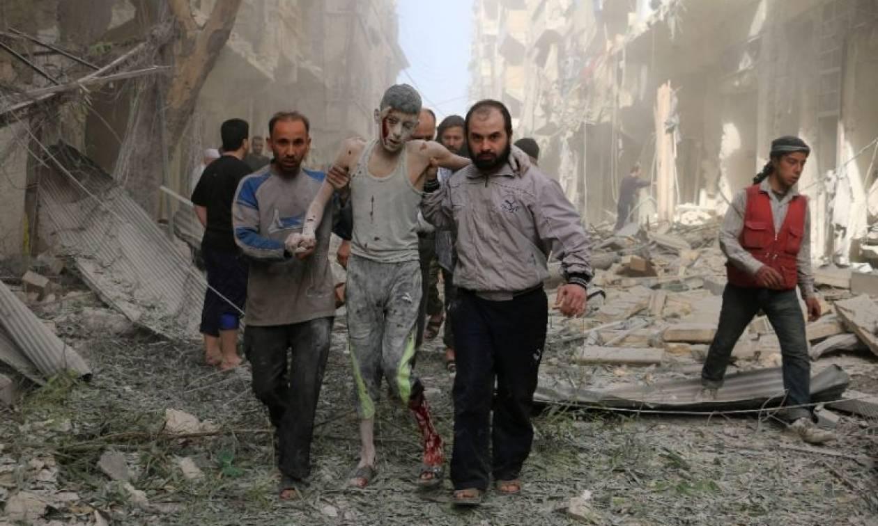 Συρία: Τουλάχιστον 31 άμαχοι νεκροί σε σφοδρούς βομβαρδισμούς του Άσαντ στο Χαλέπι (Vid)