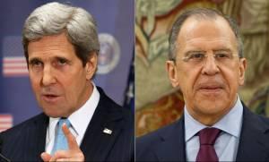 Τηλεφωνική επικοινωνία Λαβρόφ - Κέρι για τη Συρία