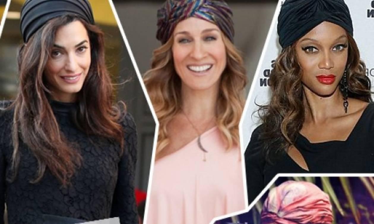Επτά στιλάτοι τρόποι να φορέσεις το τουρμπάνι στα μαλλιά σου!