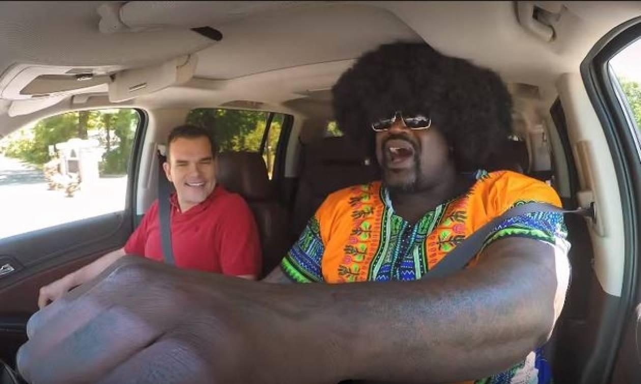 Επική φάρσα: Ο Σακίλ Ο' Νιλ σε ρόλο... ταξιτζή! (vid)