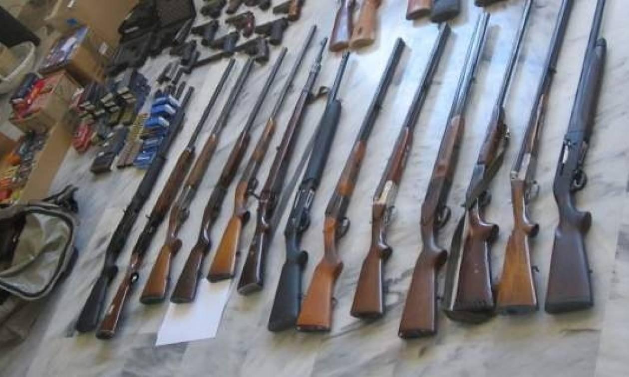 Χανιά: Εξαρθρώθηκε οργάνωση που διακινούσε και εμπορευόταν όπλα και πυρομαχικά  (photos)