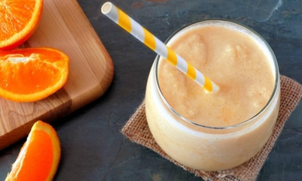 Συνταγή για smoothie πορτοκάλι – Θερμίδες και θρεπτικά συστατικά