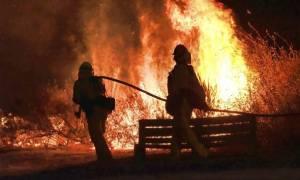 ΗΠΑ: Πύρινη κόλαση στα περίχωρα του Λος Άντζελες (pics)