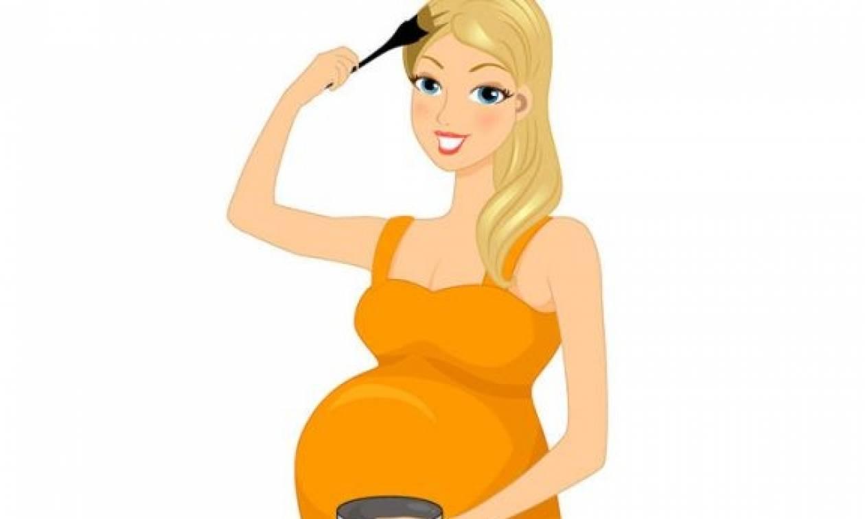 «Μπορώ να βάψω τα μαλλιά μου τώρα, που είμαι έγκυος;»