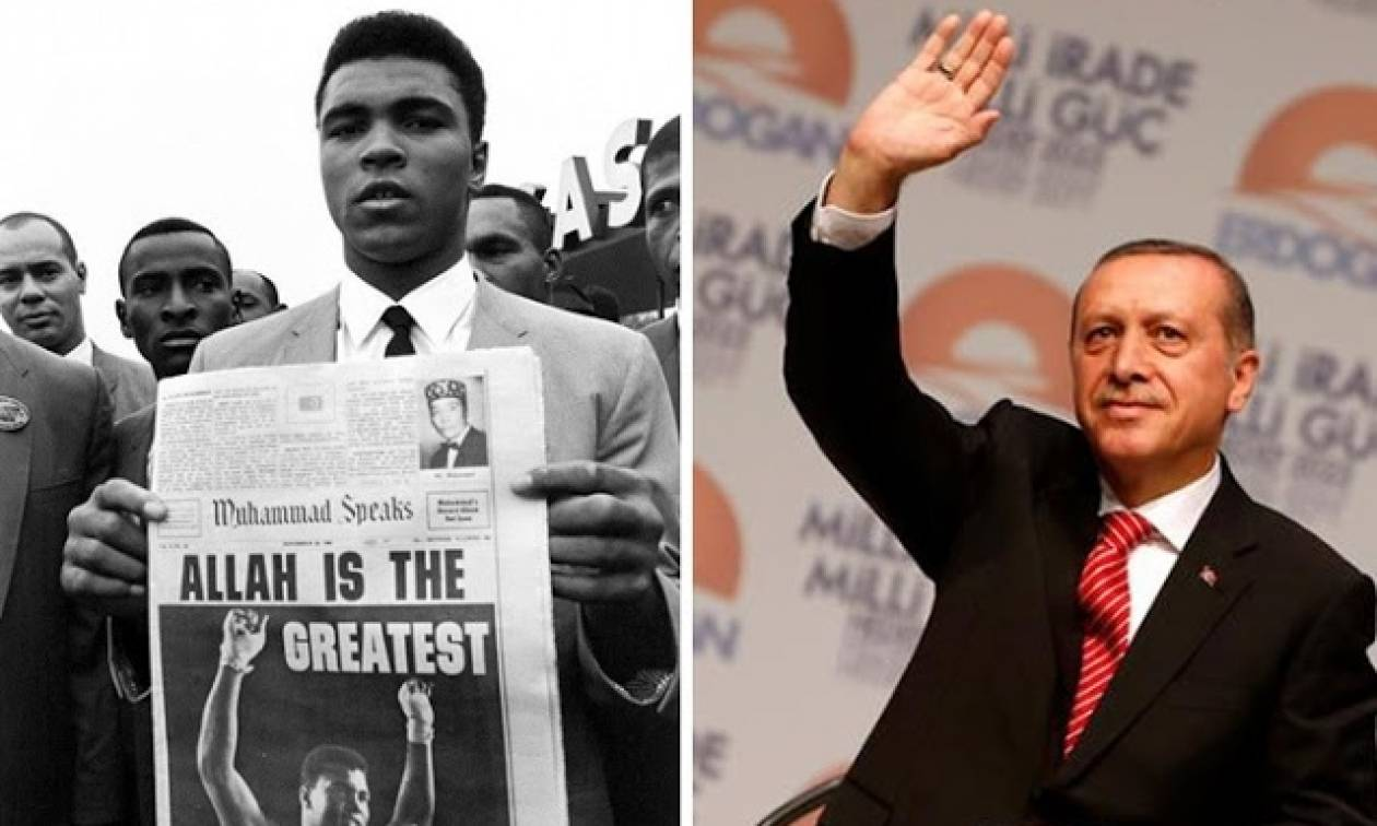 Στις ΗΠΑ ο Ερντογάν για την κηδεία του Μοχάμεντ Άλι