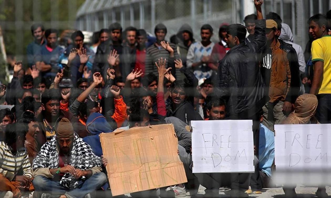 Λύσεις στα προβλήματα λειτουργίας του hot spot ζητούν οι κάτοικοι της Μυτιλήνης