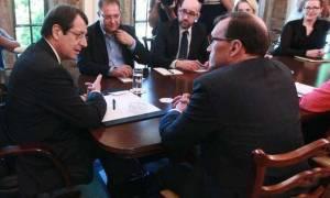 Τρίπτυχο για συγκλίσεις, συναντιλήψεις και διαφορές στις συνομιλίες ζήτησε ο Αναστασιάδης από Έιντε
