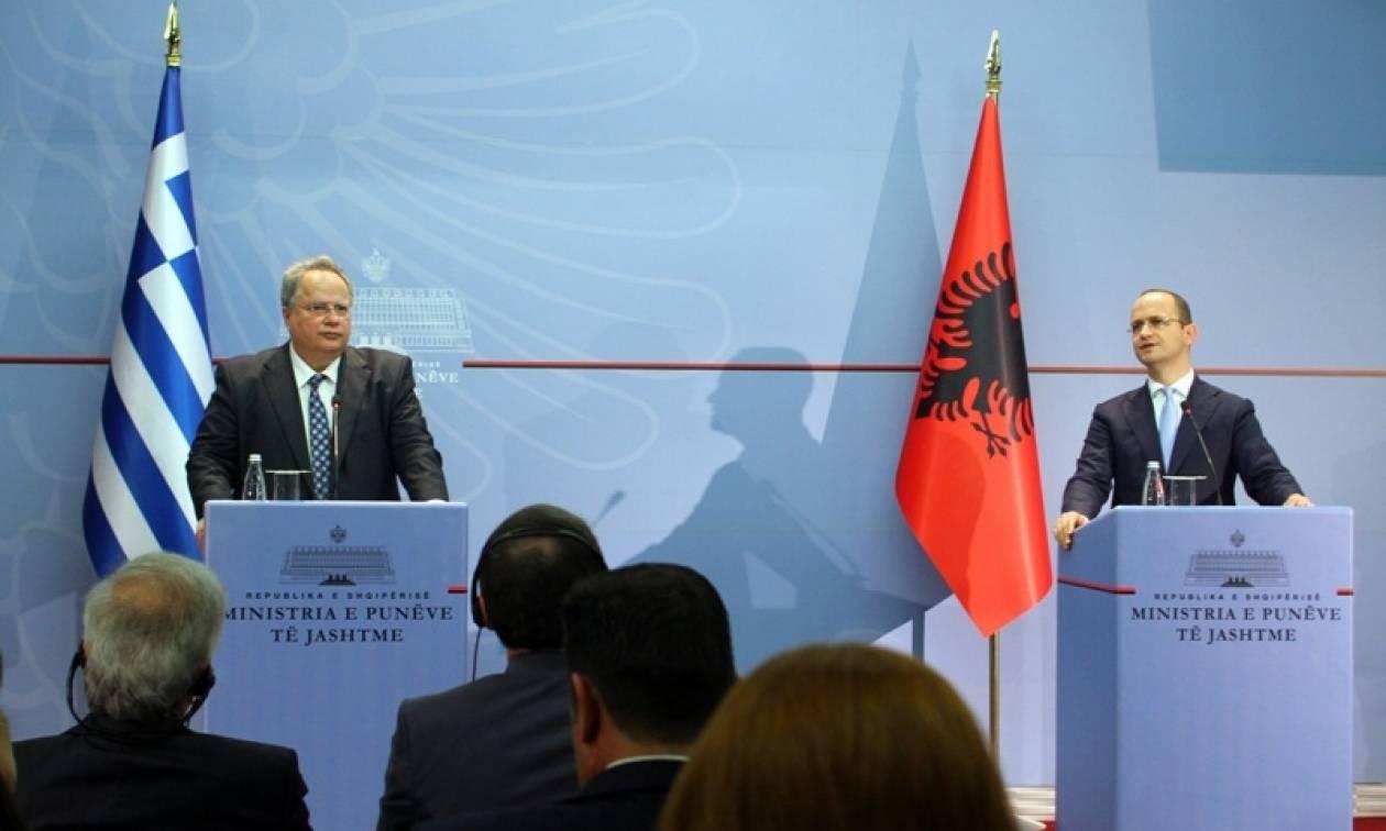 Νίκος Κοτζιάς: Κάναμε θετικά βήματα στην Αλβανία