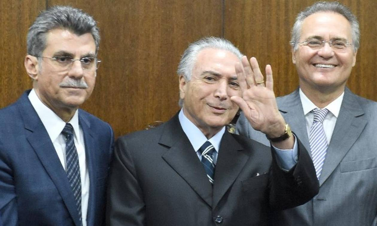 Βραζιλία: Εισαγγελέας ζήτησε τη σύλληψη των προέδρων της Γερουσίας και της Βουλής