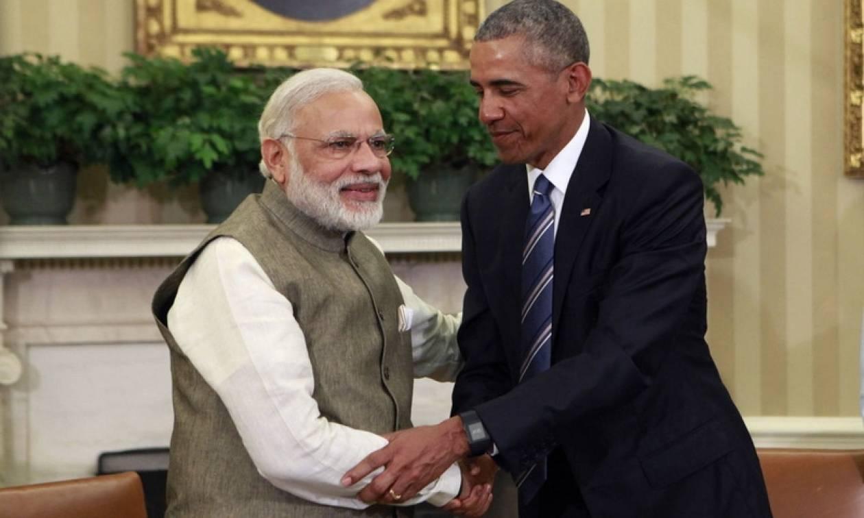 Ομπάμα και Μόντι θέλουν η συμφωνία του Παρισιού για το κλίμα να τεθεί τάχιστα σε εφαρμογή