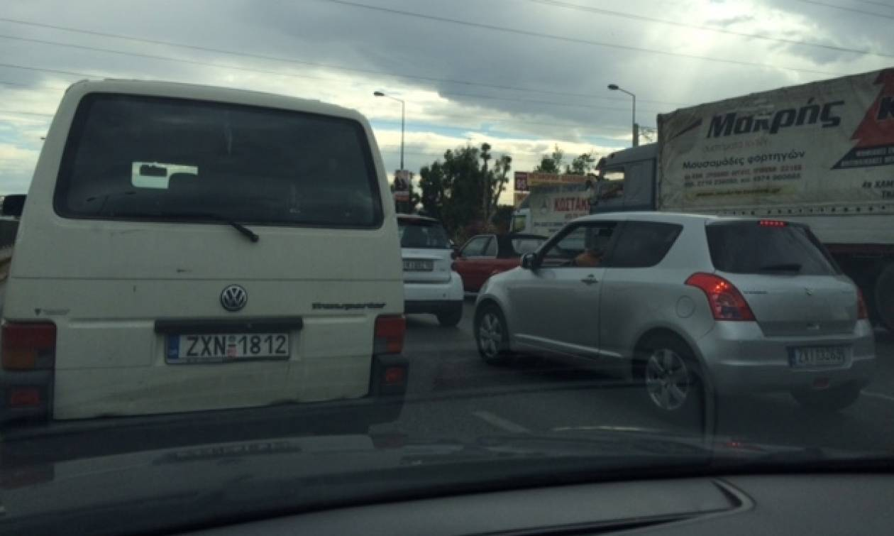 Κυκλοφοριακό «έμφραγμα» στην Εθνική Αθηνών – Λαμίας