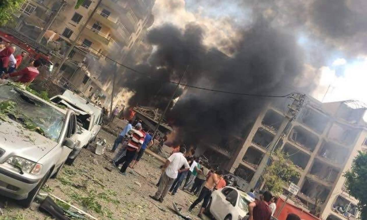 Βομβιστική επίθεση σε κτήριο Αστυνομικής Διεύθυνσης στην Τουρκία (photos+video)