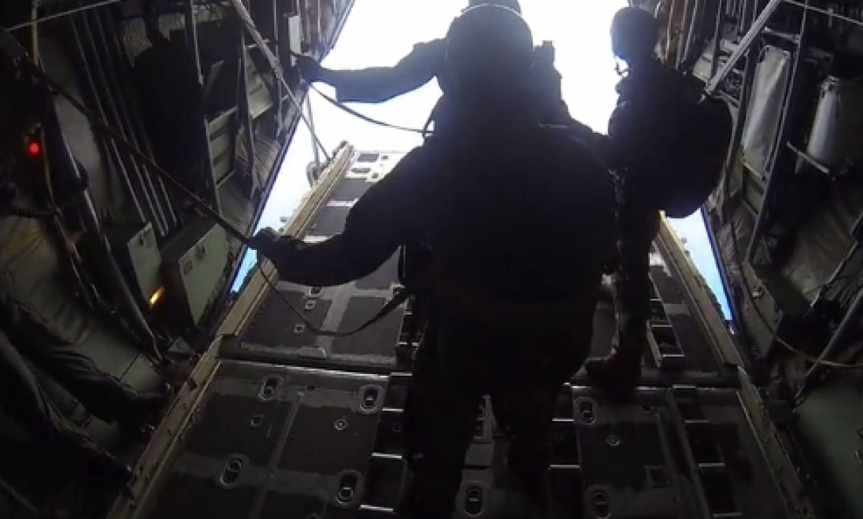 Φοβερό βίντεο από την άσκηση «Αργοναύτης» της Πολεμικής Αεροπορίας