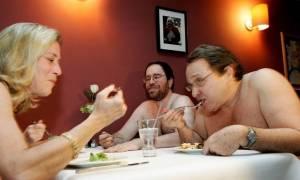 Εγκαίνια για το πρώτο εστιατόριο γυμνιστών