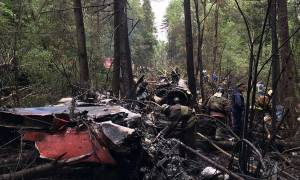 Ρωσία: Συντριβή πολεμικού αεροσκάφους στη Μόσχα – Νεκρός ο πιλότος (Vid)