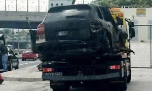 Παναγιώτης Μαυρίκος: Βίντεο ντοκουμέντο με το φλεγόμενο αυτοκίνητο