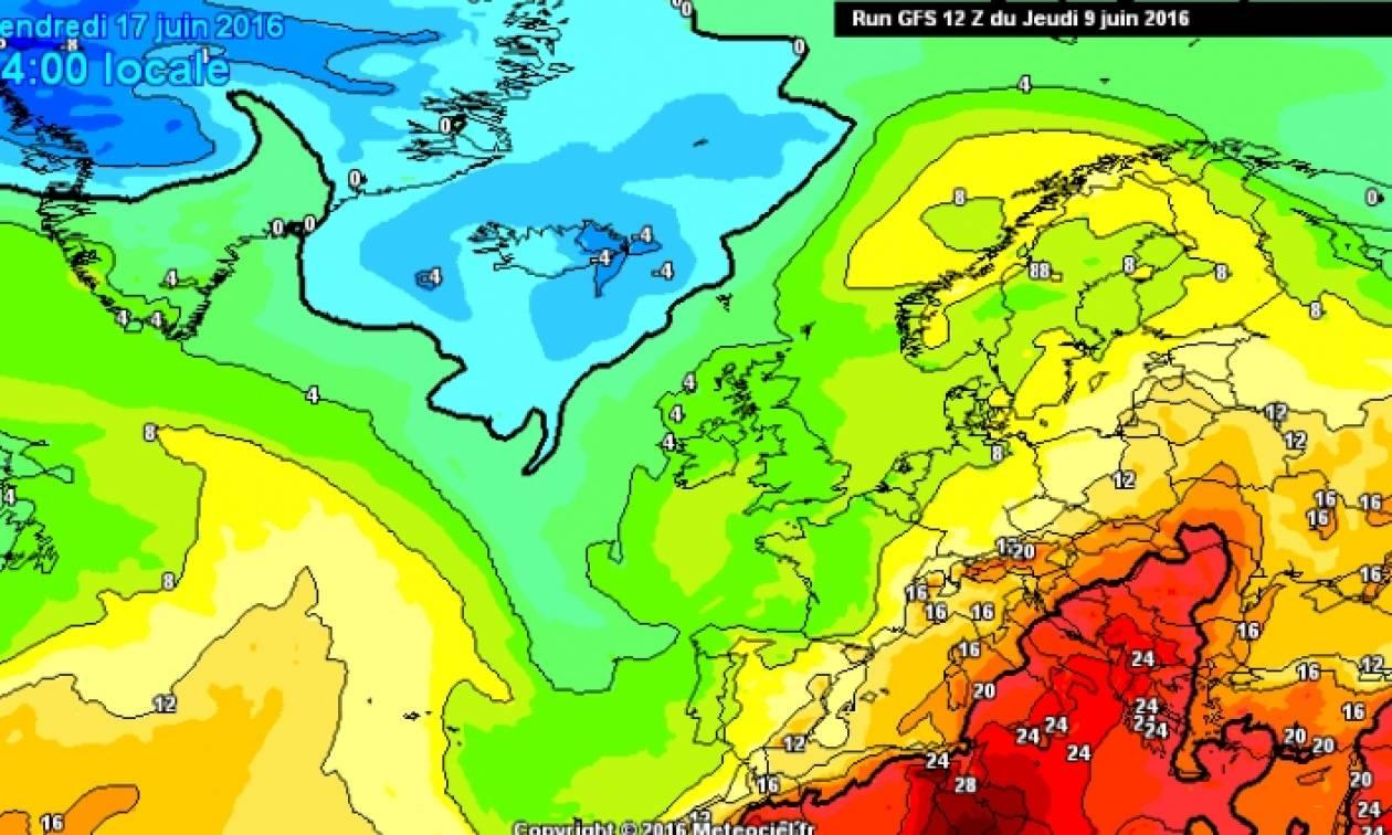 Καιρός: Έρχεται καύσωνας από τις 16 Ιουνίου...