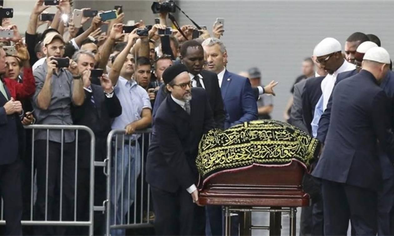 Μοχάμεντ Άλι: Χιλιάδες άνθρωποι στην τελετή μνήμης του σπουδαίου πυγμάχου (pics+vid)