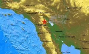 Σεισμός 5,2 Ρίχτερ στη νότια Καλιφόρνια