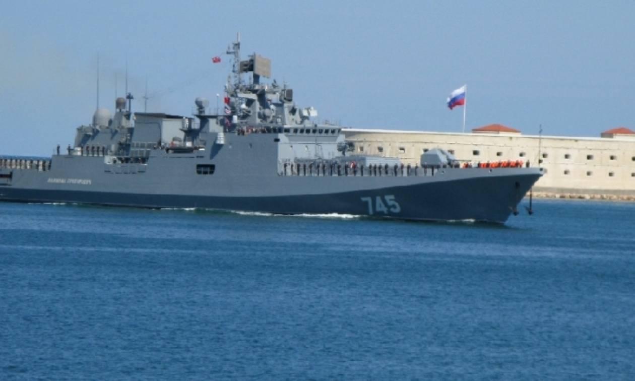 Η νέα ρωσική υπερ-φρεγάτα στη Σεβαστούπολη! (video)