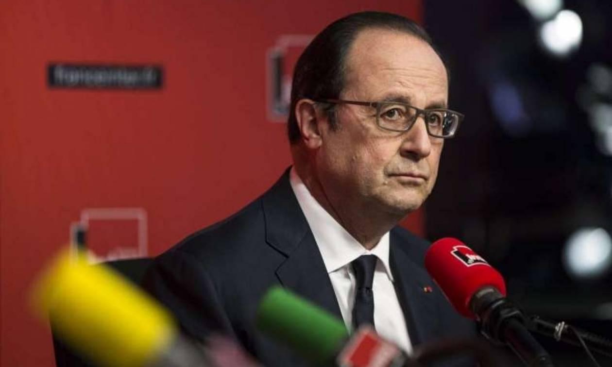 Euro 2016 - Στον κόσμο του ο Ολάντ: «Είναι μια γιορτή της ευρωπαϊκής ιδέας»