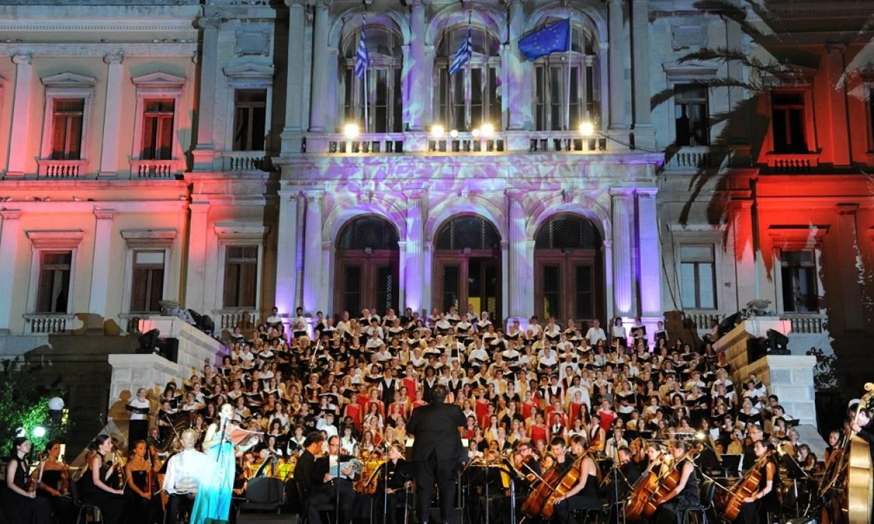 Διεθνές Φεστιβάλ Αιγαίου 2016: «Εξαιρετική μουσική σε έναν υπέροχο χώρο»
