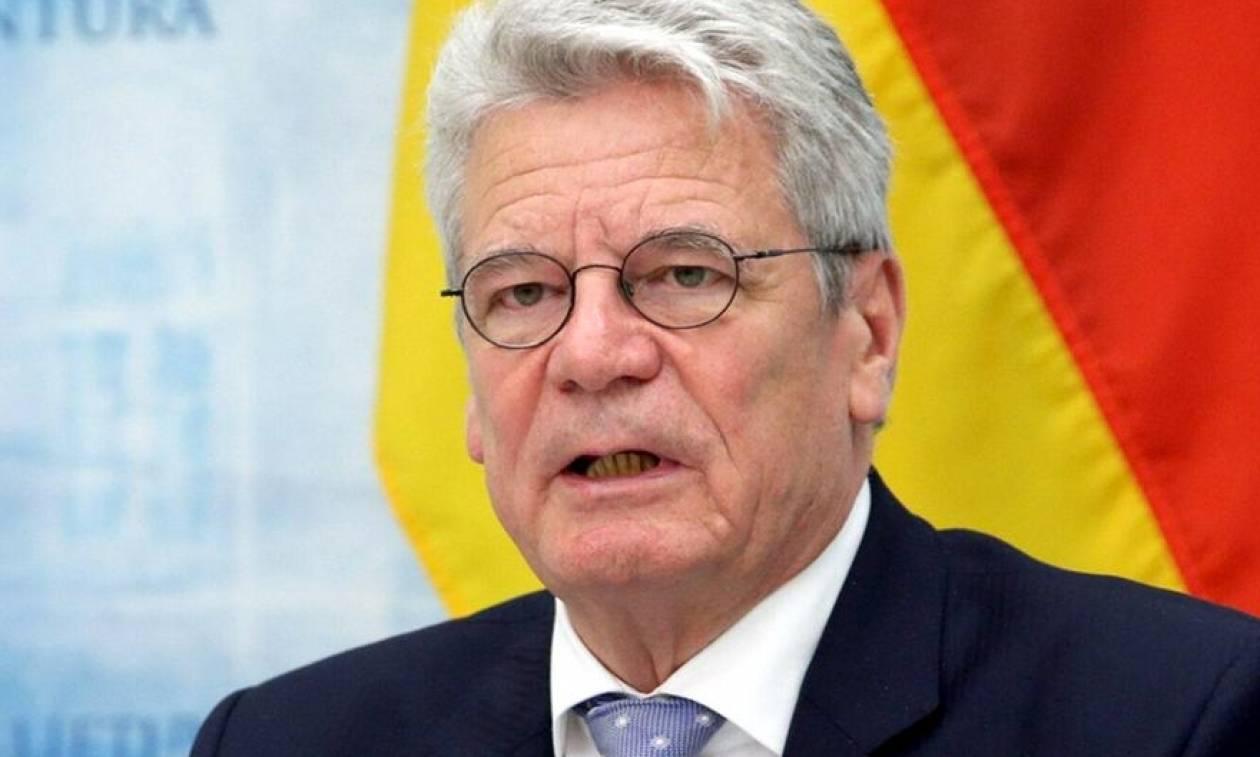 Euro 2016: Έντονη ανησυχία του Γερμανού προέδρου για την ασφάλεια της διοργάνωσης