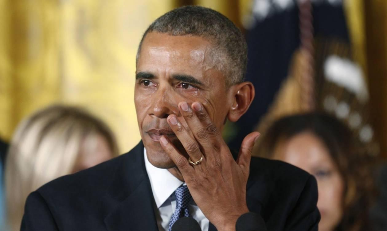Η συγκινητική στιγμή του Μπαράκ Ομπάμα