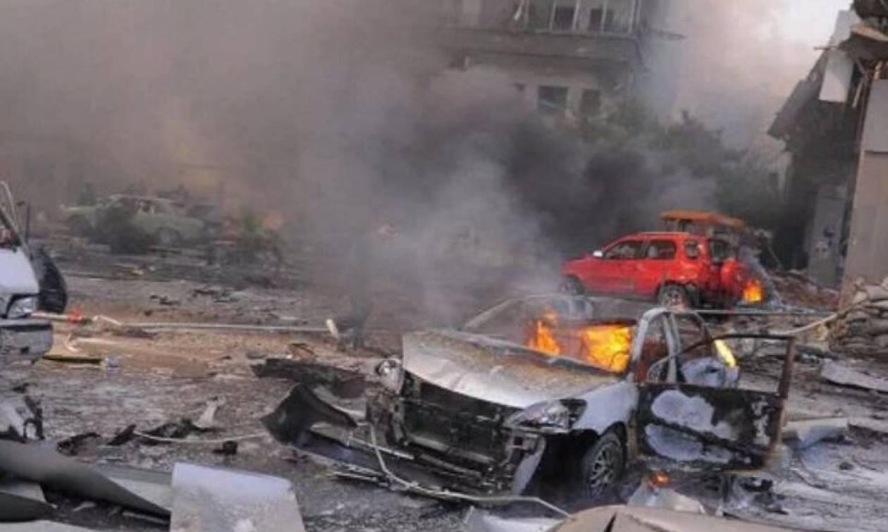 Καμικάζι σκορπά τον θάνατο στη Δαμασκό - Τουλάχιστον 20 νεκροί (pics)